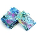 OOTDTY J34 New 10Pcs 12X8cm Coralline Organza Jewelry Pouch Wedding Party Favor Gift Bag Hot