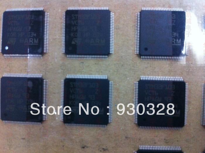 STMicroelectronics - STM32F103VCT6 MCU 32-bit STM32F ARM Cortex M3 RISC 256KB Flash 2.5V/3.3V 100-Pin LQFP Tray(China (Mainland))