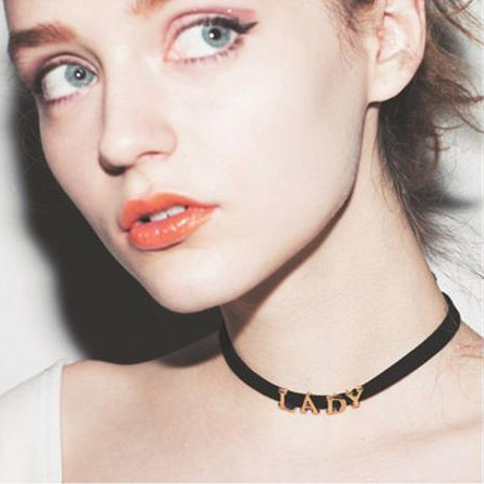 Collares Fashion 2014 Colors Perfume Women Collares Vintage Choker Necklace Lady Accessories Fashion Necklace(China (Mainland))