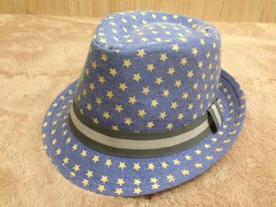 Pentagram child cowboy hat jazz hat Korean version of the small boy sun visor hat(China (Mainland))