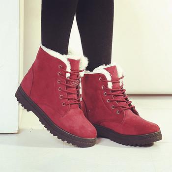 Snow boots winter ankle boots women shoes plus size shoes 2016 fashion heels winter boots fashion shoes