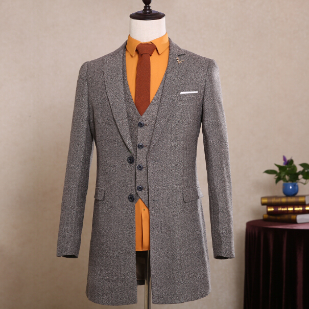 Popular Tweed Long Coat Men-Buy Cheap Tweed Long Coat Men lots