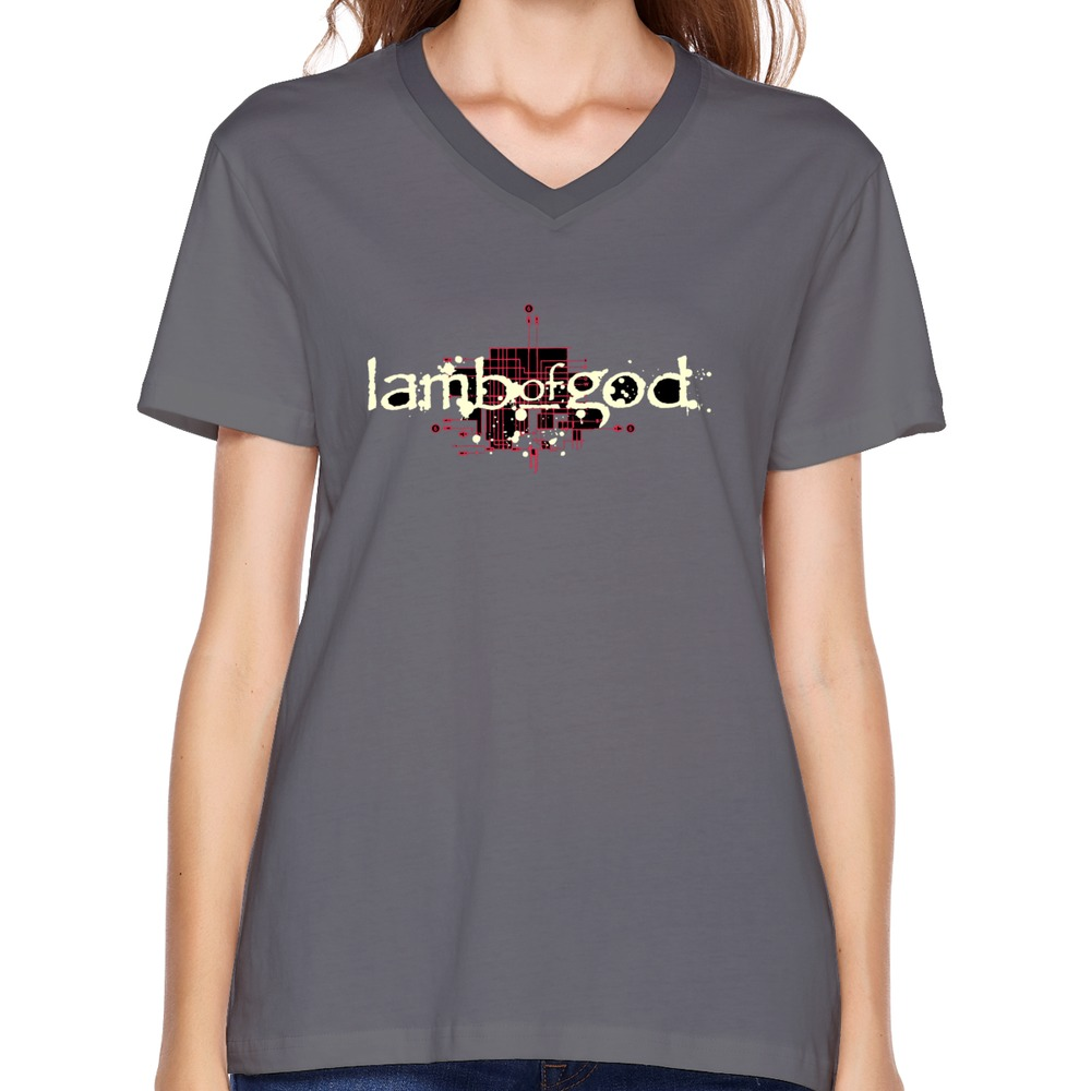 brand new romance unique women t-shirt casual Lamb of God t shirt geek women(China (Mainland))