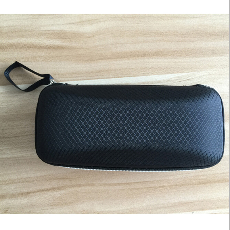 High Quality Fashion Colorful Zipper Hook Sunglasses Box Compression Glasses Case GS 095 Glasses Eyewear Box