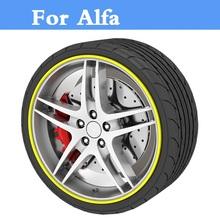 Buy 8M Beauty Auto Accessories Car Rim wheel Hub Sticker Protector Alfa Romeo Disco Volante Giulietta GT GTV MiTo Spider for $8.45 in AliExpress store