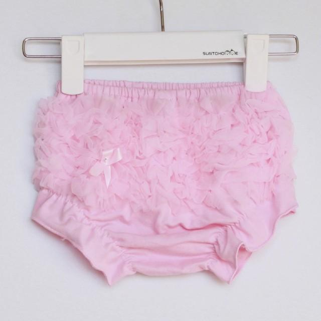 Новый хлопок малышей девушки кружева рюшами шорты шаровары подгузник крышка туту ...