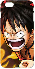 Painting one piece Monkey D Luffy Cell Phone Case For iphone 4 4S 5 5S SE 5C 6 6S Plus For iPod Touch 4 5 6 Plastic Hard Cover