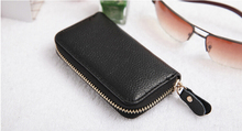 Candy Color Men Pu Leather Key Bag Handy Mini Coin Wallets Cover Holder Women Housekeeper Electronic