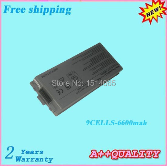 11.1V 6600mah For Precision M70 Laptop battery For DELL Latitude D810(China (Mainland))