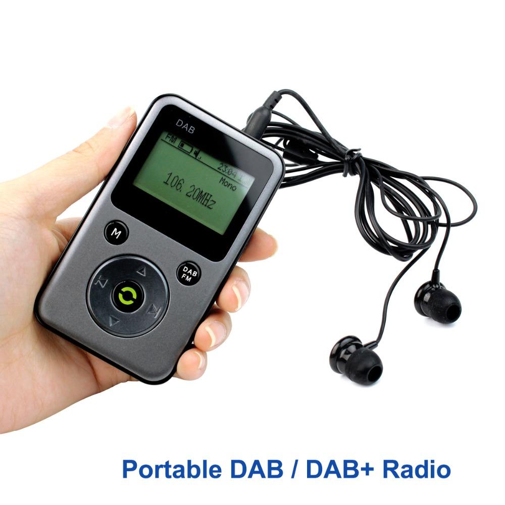 Portable Pocket DAB / DAB+ Radio FM Stereo Receiver TF Card MP3 Player PPM001 Y4107H Fshow<br>