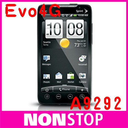 CDMA Original HTC Evo 4G A9292 CDMA GPS WIFI 8MP Cell Phone  Free Shipping 1 Yeay Warranty(China (Mainland))