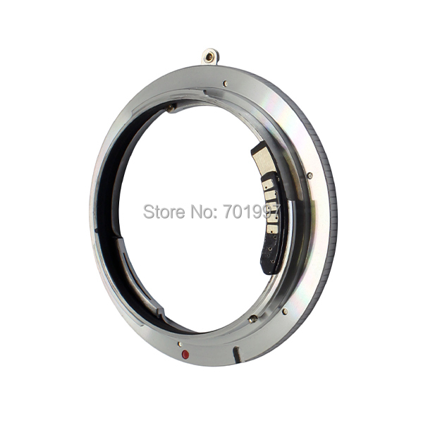AF Confirm lens adapter ring suit for Leica R LENS TO Canon EOS camera 7D 5D