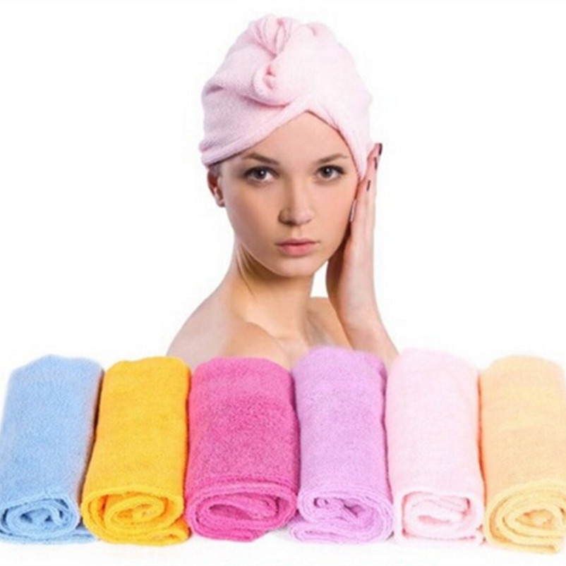 1 PC Nice Magic Turban Hair Drying Towel Fast Dryer Cap Hat Microfibre Bath Aliexpress Cheapest 0 - Idefun Store store