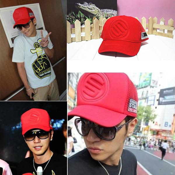 New Coming Men Womens Hot Selling Korean Mesh Trucker Baseball Caps Hat Snap Hip hop Style