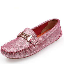 Hot sale woman shoes slip on Driving flats women's Moccasins casual leather flat shoes women loafer(China (Mainland))