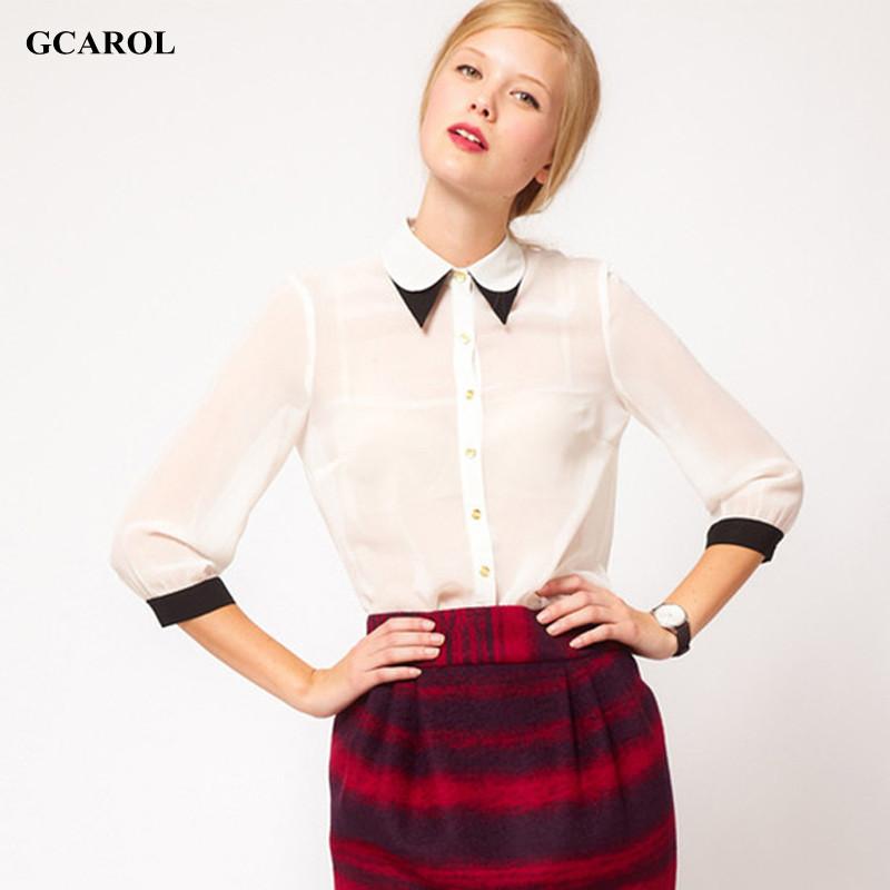 Белые Блузки Модные Казань