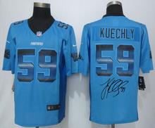 A+++ all stitched ,Carolina panthers signature #59 Luke Kuechly(China (Mainland))