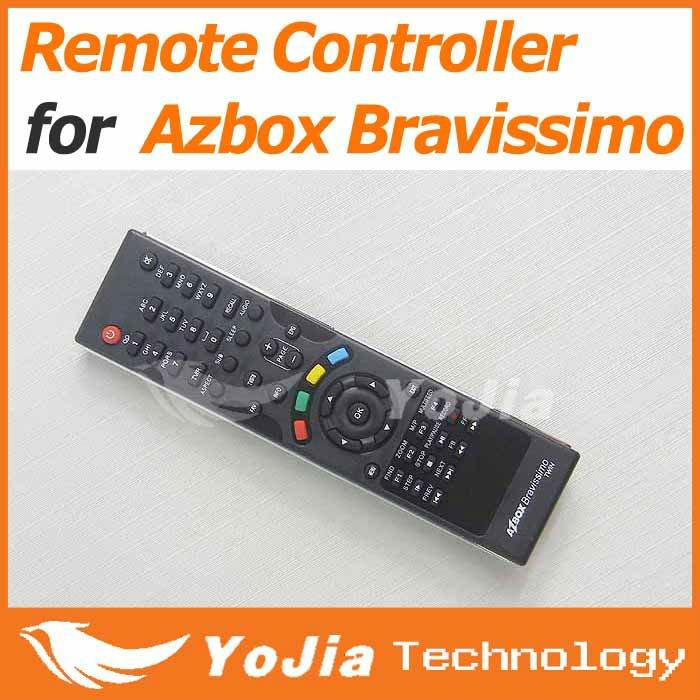 1pc Remote Control for AZbox Bravissimo satellite receiver RC remote controller bravissimo free shipping post(China (Mainland))