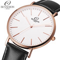 Watch Women Men Montre Femme Brand Stainless Steel Quartz Wristwatch Female Reloj Clock Leather Band With
