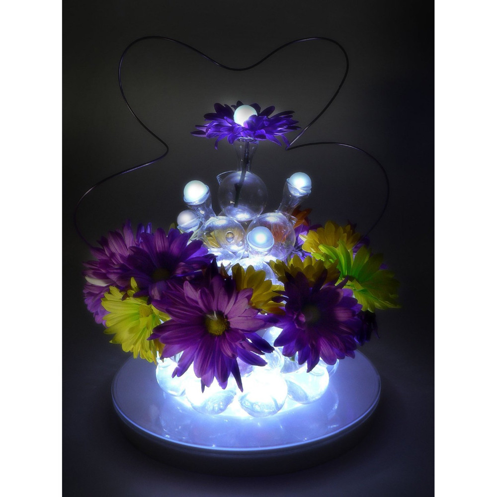 10pcs Mini Balloon LED Lights Battery Operated for Wedding Ceremony Party Decor