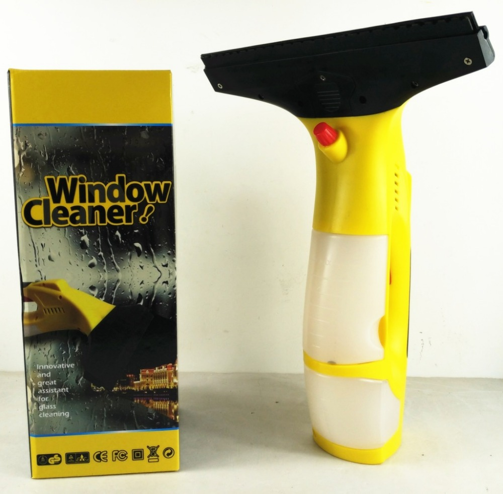 Professional Window Cleaner Power Squeegee Cordless Electric Multifunctional water spraying window cleaning machine(China (Mainland))