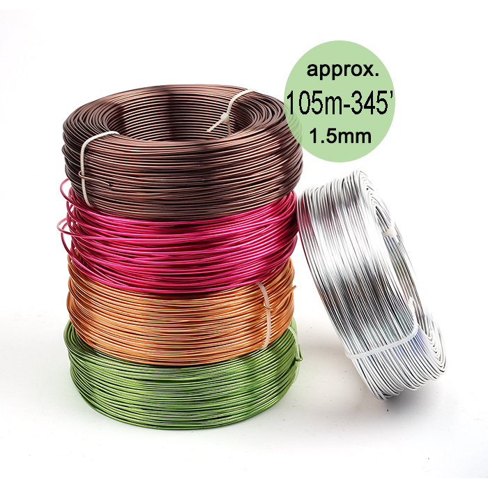 Wholesale anodized artistic aluminum craft wire 1 for 22 gauge craft wire