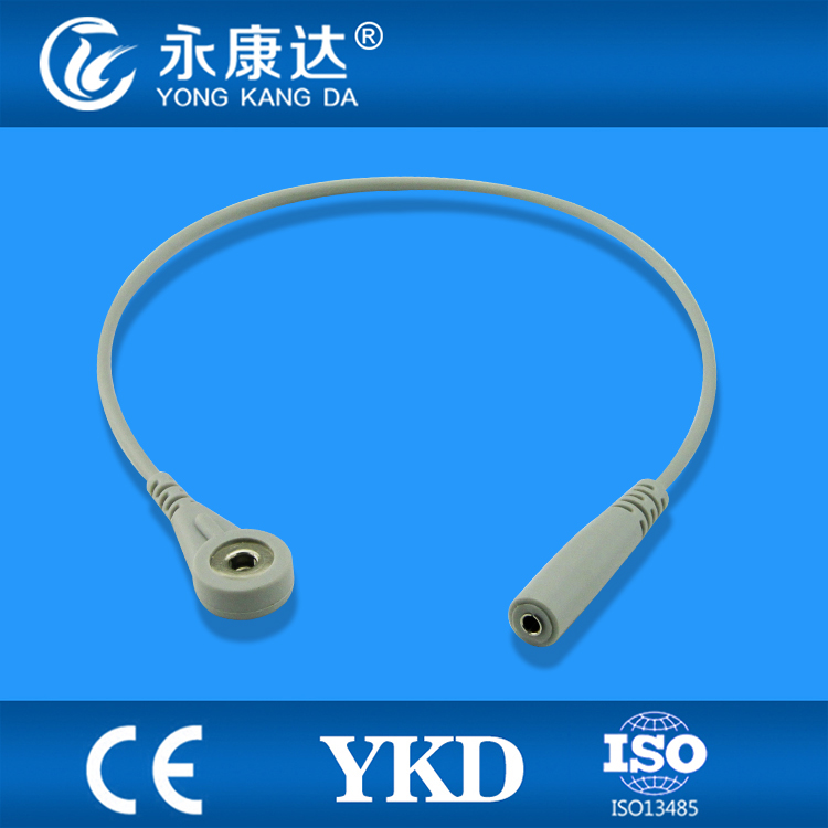 Wholesale 10pcs/lot , Banana 4.0 to Snap ECG adapter cable from Chinese manufacture(China (Mainland))