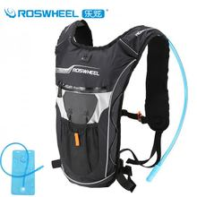 Buy Roswheel Bicycle Hydration Backpack Bike Waterproof Nylon Cycling Backpack Ultralight Sport Riding Travel Mountaineering Bag 9L for $23.48 in AliExpress store