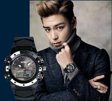 Nuevos hombres del reloj analógico reloj de silicona relojes hombres marca de lujo mens relojes de primeras marcas relogio masculino saat