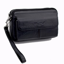 Buy CHEERSOUL 2017 Designer Genuine Leather Wallets Men Purse Clutch Masculina Male Handy Bags Wallet Fashion Small Money Handbag for $17.67 in AliExpress store