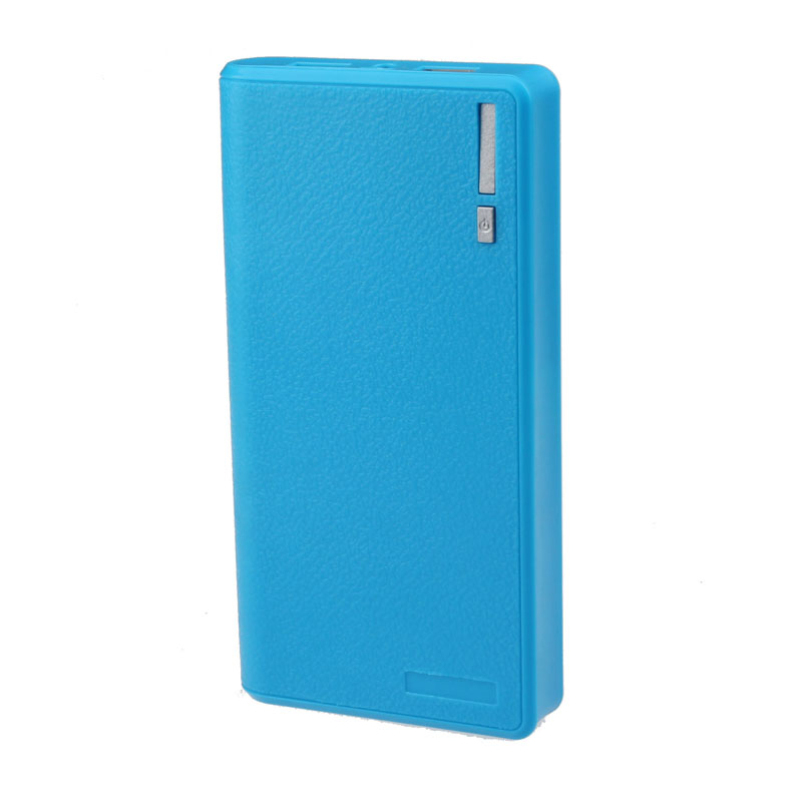Hot selling Dual USB 5V 2A 6x 18650 Power Bank Battery Case Box Charger Flashlight(China (Mainland))