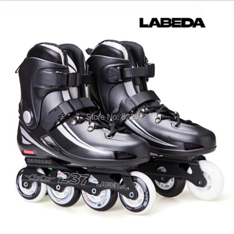 LABEDA 237 Adult Inline Skates Roller Skating Shoes Good Quality Slalom Skates Slide Free Skating Rollerblading Hockey Patins(China (Mainland))