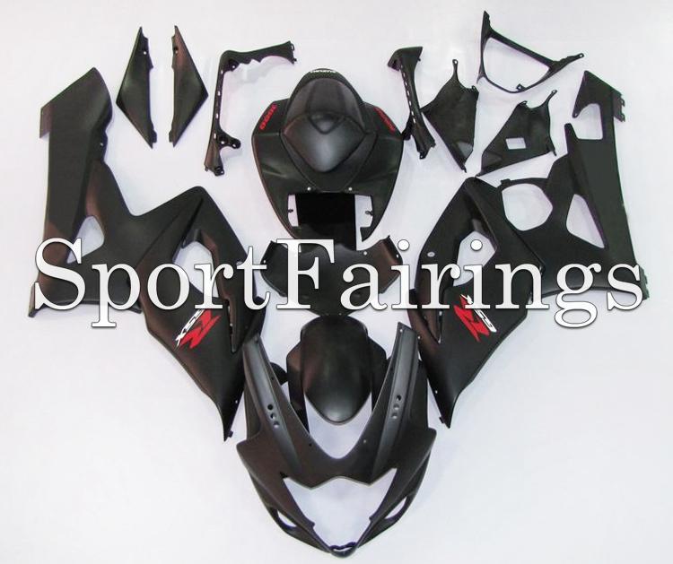 Fairings Fit Suzuki GSXR1000 GSXR-1000 K5 Year 2005 2006 05 06 ABS Motorcycle Fairing Kit Bodywork Motorbike Cowing Black Matt(China (Mainland))