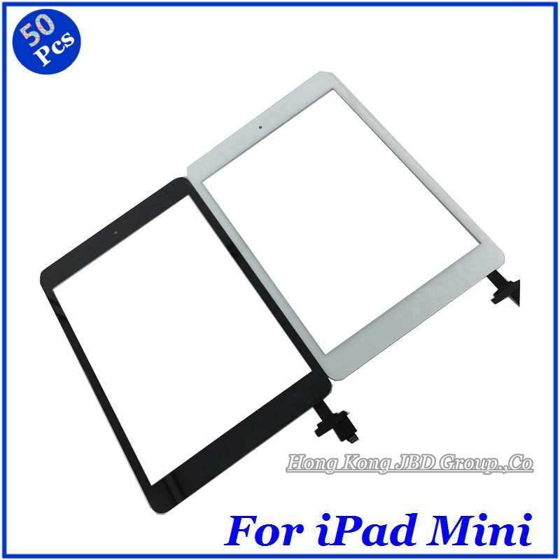 High Quality All Express Shipping Via DHL For iPad Mini 1&amp;2 Touch Screen Digitizer Assembly With Home Button Flex Cable 50pcs <br><br>Aliexpress