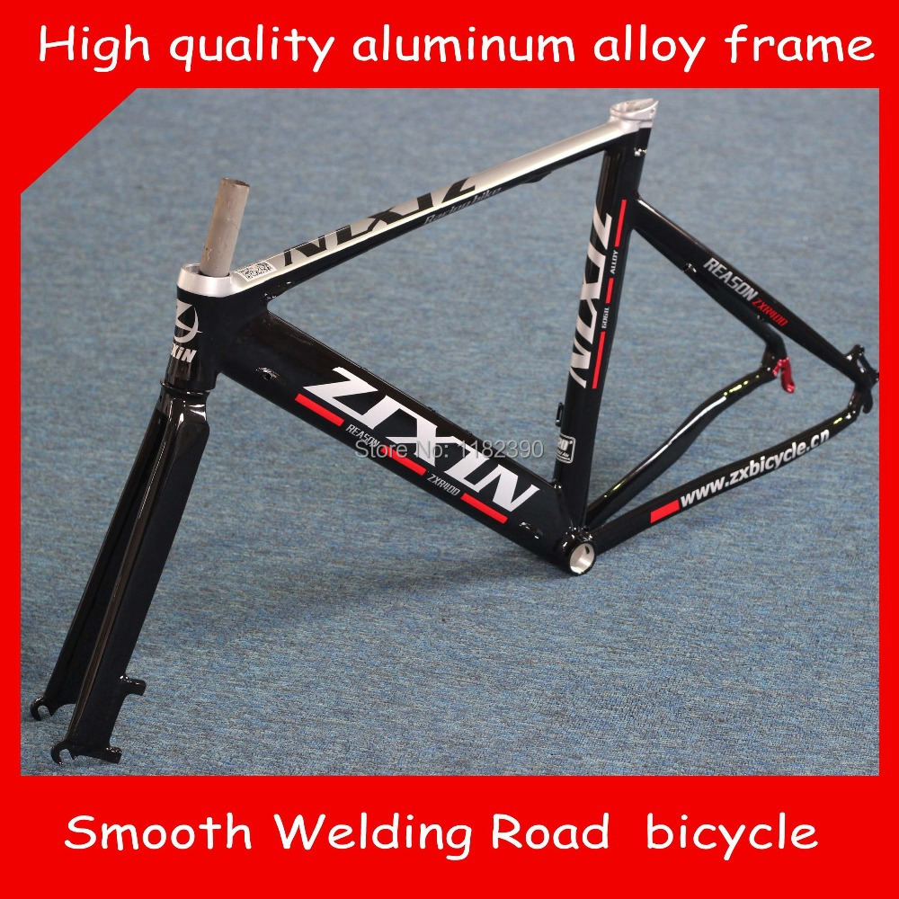 2015 Top Quality 700C*48CM/52CM Smooth Welding Track Bike Road leisure bicycle  Cycling Track Frame Road bike  free shipping(China (Mainland))