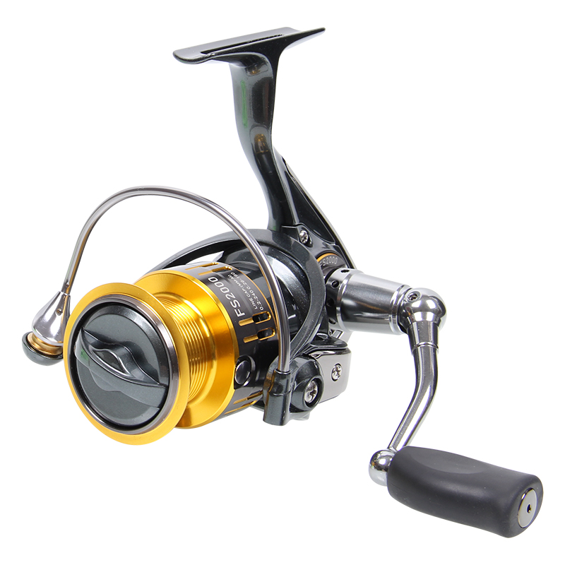 fishing pesca spinning reel TrulinoyaFS-2000 aluminum alloy deep spool line coil for long casting salt water rock fishing(China (Mainland))