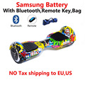 Built in Samsung battery Smart Self balancing Electric Scooter smart overboard oxboard unicycle Electric skateboard Hoverboard