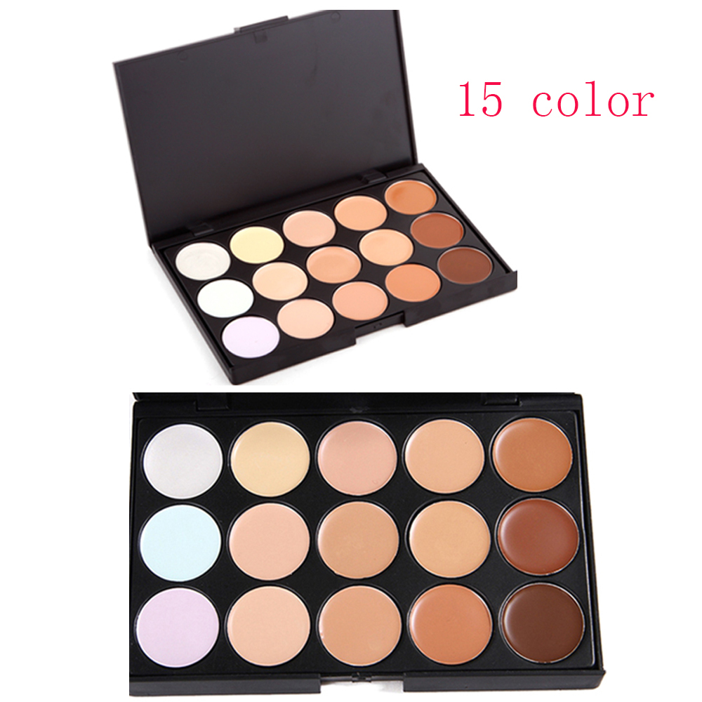 2015 New Professional 15 Color Concealer Camouflage Makeup Palette # 2231(China (Mainland))