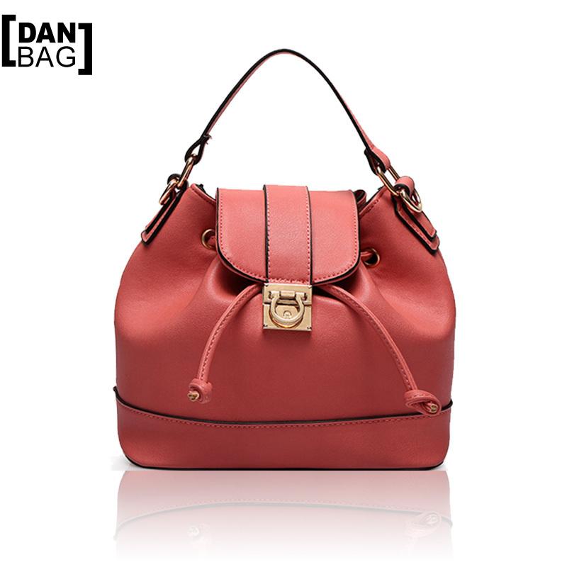 New Arrival Brand Fashion Style Quality PU Leather Handbags Original Design Multi-purpose Bucket Bag Women Shoulder Bags 5 Color<br><br>Aliexpress