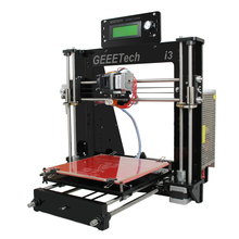 Support Five Materials Reprap Prusa i3 3D Printer Machine 8MM Acrylic Frame High Precision Impressora DIY Kit  LCD Filament Free
