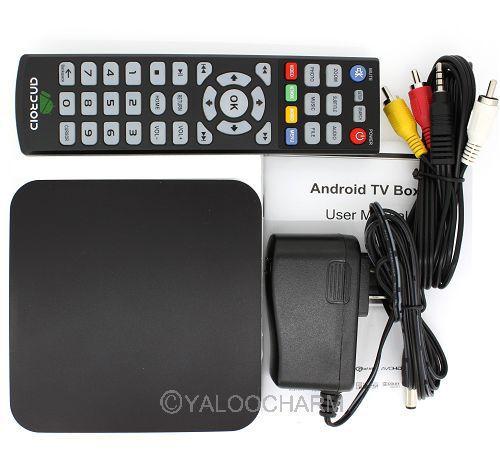 Hot Wholesale Android 4.0 TV Box TB-A200 Media Player IPTV HD 1080P HDMI Internet Wifi 80378(China (Mainland))