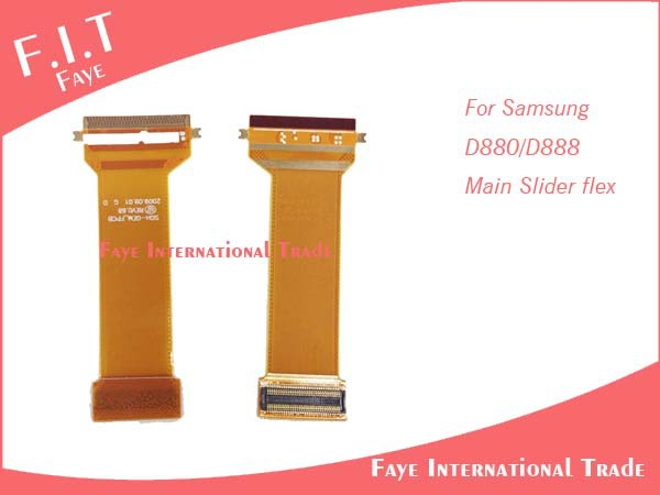 10pcs/lot,Free Shipping, For Samsung D880 flex cable(China (Mainland))
