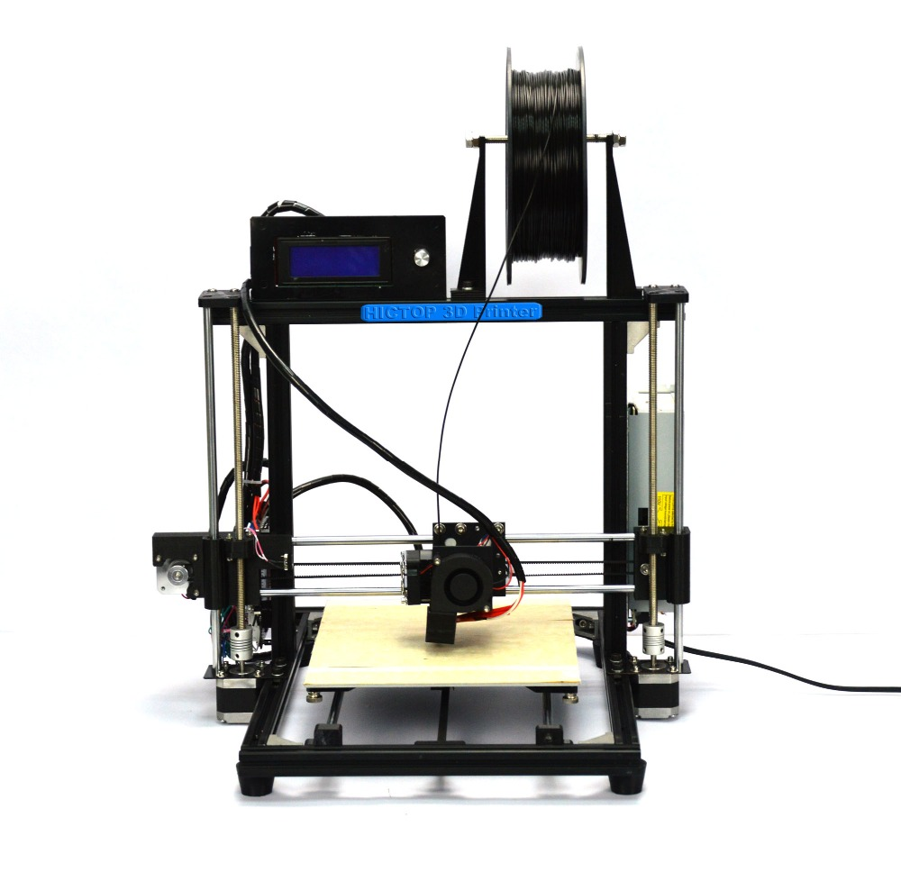 HICTOP Reprap Prusa I3 3D Printer Filament Monitor Auto Level Aluminum DIY MK8(black)<br><br>Aliexpress