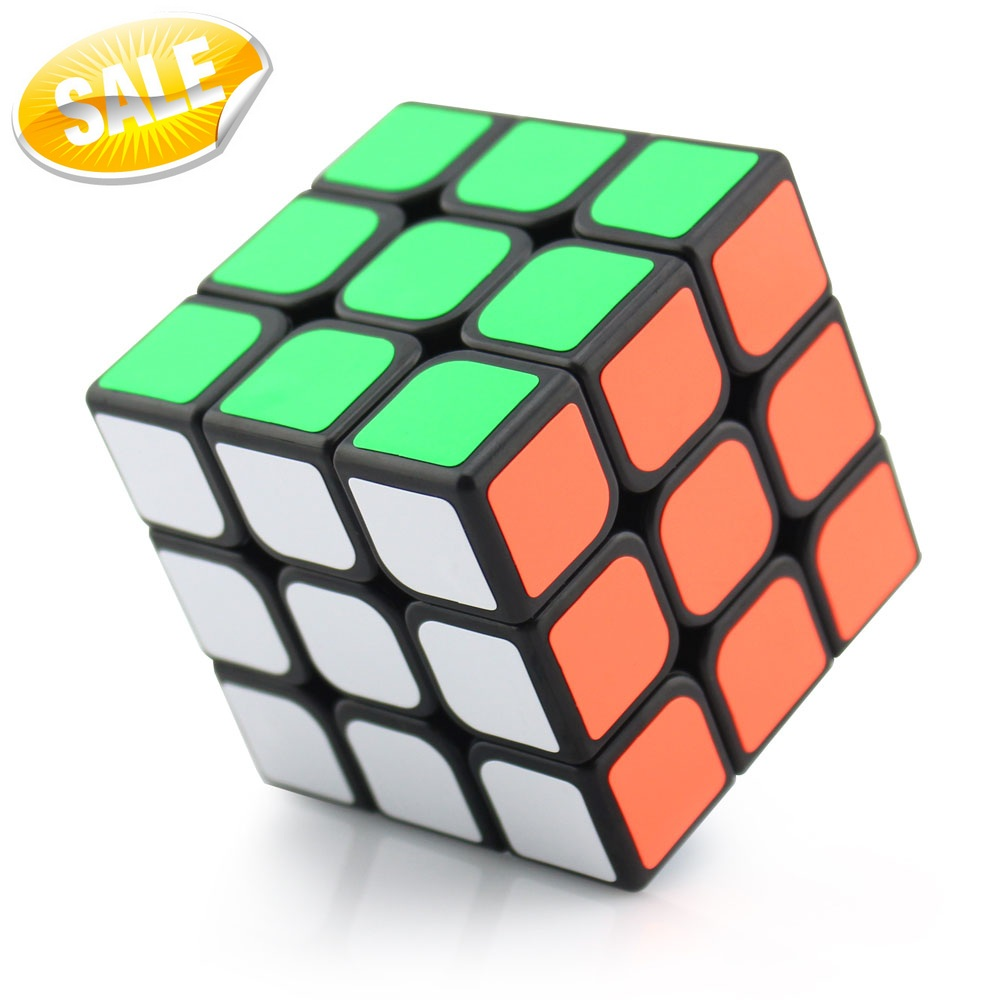 Newest Magic Cubes 3x3x3 Twist Spring Speed Magic Cube Christmas Puzzle Educational Professional 3x3 Cubo magico kub Toys(China (Mainland))