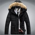 2015 hoge kwaliteit dikke warme parka windjack jassen winter man eendendons jas sportkleding merk buiten kleding 0088