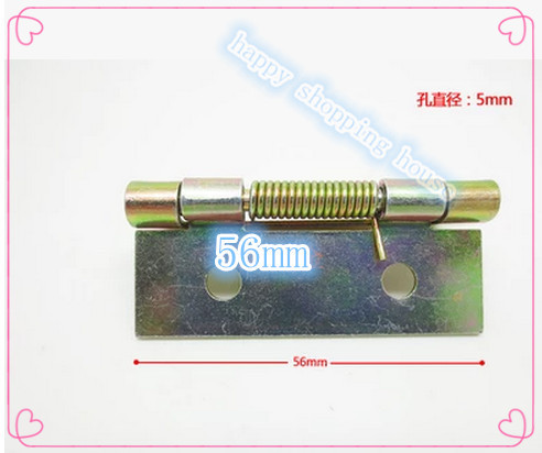 2 inch color plating spring hinge galvanized iron hinge with a spring hinge furniture accessories(China (Mainland))