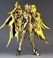 Anime Gemini Saga Saint Seiya Soul of Gold Action Figures Saint Cloth EX Version God Cloth