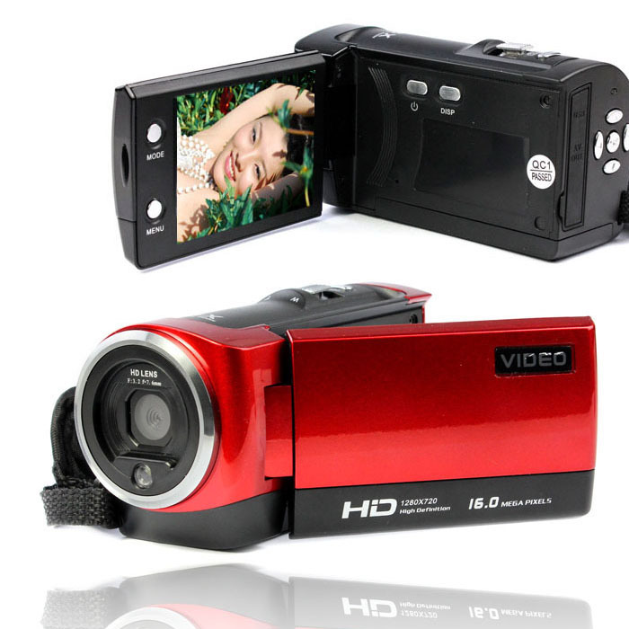 2015 New Arrival 2 7 LCD 16MP 720P HD Digital Camera Video Recorder Camera 16xDigital ZOOM