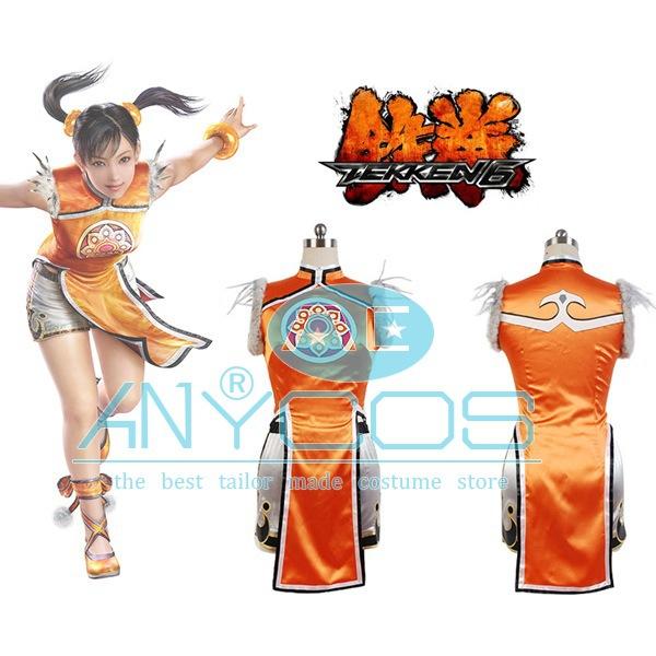 Tekken Ling Xiaoyu Costumes Tekken 6 Ling Xiaoyu