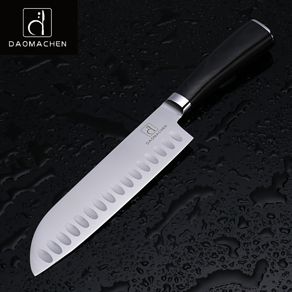 Buy Free Shipping DAOMACHEN Kitchen Chef Cooking Cleaver Knife Non-stick Slicing Meat Vegetable Sushi Multifunctional Cutting Knives cheap